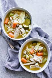 cooker turkey noodle soup jar of lemons