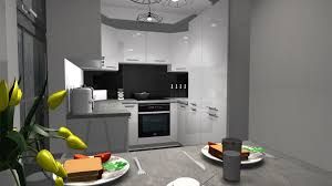 modern kitchen in old house kam il