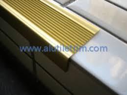 aluminum stair nose www alutiletrim com aluminum stair nosing