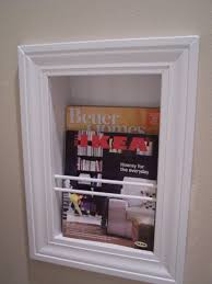 going a little coastal recessed magazine rack