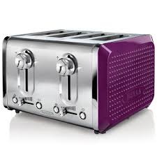 Russell Hobbs Purple Toaster Purple 4 Slice Toaster U2013 Glass Dishes For Meat U0026 Dairy