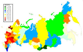 russia map by population https upload wikimedia org commons thu