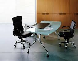 Modern Glass Office Desks Contemporary Glass Office Desks Modern Glass Desk Office