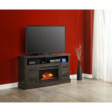 sarah tv stands whalen weathered dark pine media fireplace