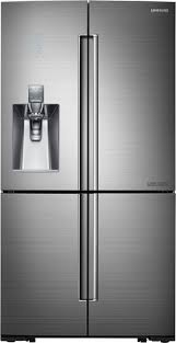 Samsung Cabinet Depth Refrigerator Samsung Chef Collection 24 1 Cu Ft Counter Depth 4 Door Flex