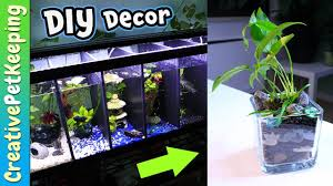 BETTA FISH tank decorations