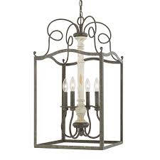 Country French Lighting Fixtures by 4 Light Foyer Capital Lighting Fixture Company Lighting
