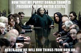 Harry Potter Meme - the secret cabinet of donald trump harry potter know your meme
