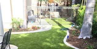 residential properties artificial grass k9grass by foreverlawn
