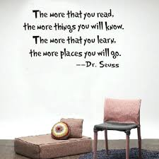 inspirational room decor dr seuss quote wall decals articles with quotes wall decor tag