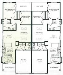 Duplex Plans With Garage Duplex House Plans Hdviet