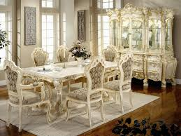 Vintage Dining Room Furniture Interior Enchanting Dining Room Decoration Using White Wood