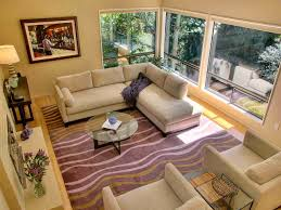 furniture warm eclectic family room with sectional sofa and