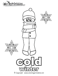adjectives coloring page a free english coloring printable