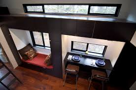 tiny house on wheels home by andrew and gabriella morrison living dining space tiny house on wheels