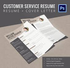 resume cover page exle printable customer service resume cover letter template free