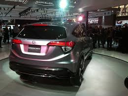 Honda Urban Suv Onslaught Continues Honda Urban Suv Concept The Truth About