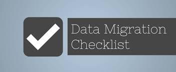 data migration checklist planner template for effective data