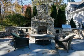 Outdoor Patio Fireplaces Outdoor Fireplace Kits Masonry Fireplaces