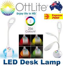 Ottlite Desk Lamp With Colour Base by Ottlite Led Desk Lamp Color Changing Base Hankodirect Decoration
