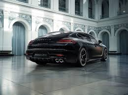 porsche hatchback black porsche panamera turbo s executive exclusive series redefines