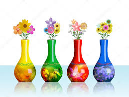 a flower vases collection u2014 stock photo alinbrotea 4178568