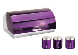 100 purple kitchen canisters purple and white kitchen home