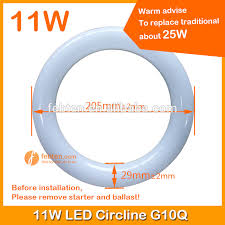 circular fluorescent light led replacement led circline ls t9 led circular tube g10q led ring lights 11w led