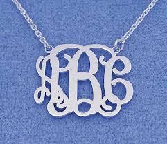 Monogram Bracelet Silver The 25 Best Monogram Necklace Ideas On Pinterest Preppy Clothes