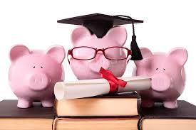 graduation piggy bank graduate piggy bank college graduation diploma stock image image