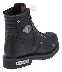 mens black motorcycle boots 96096 harley davidson mens lockwood black leather mid cut boot