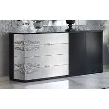 sideboards outstanding black and silver sideboard black and