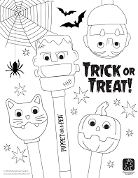 halloween coloring page free downloadables fangtastic halloween coloring pages beyond