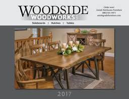 round table woodside rd woodside woodworks catalog 2017 by amish heirlooms furniture issuu