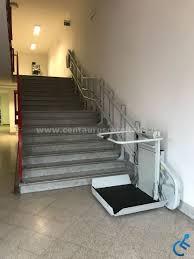pedana per disabili montascale a pedana per disabili installato a salerno
