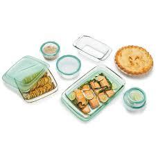 14 piece glass bake serve u0026 store set oxo