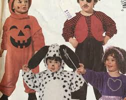 Toddler Halloween Costume Patterns Toddler Dog Costume Etsy