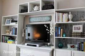 glass shelf unit living room home design