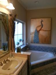 favorite things decor pretty as a peacock master bath