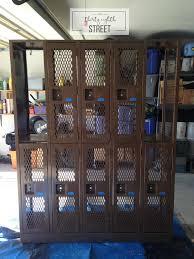 lockers industrial locker makeover thirty eighth street