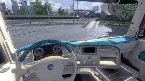 Interior Truck Scania Interior For Scania Beach For Euro Truck Simulator 2