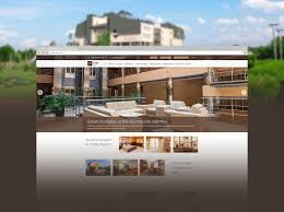 functional website design for resorts hotel chains spas