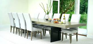 emejing large dining room table seats 10 contemporary design