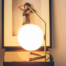 ic t1 attractive table lamp by flos lights co uk
