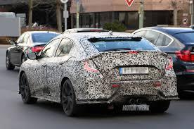 honda civic crowned top car honda civic hatchback spied testing on public roads motor trend