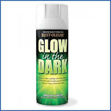 rust oleum ae0010006e8 400ml glow in dark spray paint amazon co