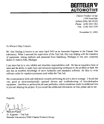 Cover Letter For Engineering Job Letter Of Recommendation Sample For Engineering Job