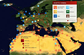 Middle East And North Africa Map Solar Dream Takes Shape In Middle East Deserts U2013 Energy Insight