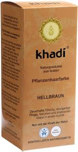 Hair Color Light Brown Khadi Herbal Hair Colour Light Brown 100 G Ecco Verde Online