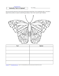 writing worksheets insects at enchantedlearning com